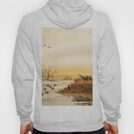 Hunting Pintail Ducks Hoody