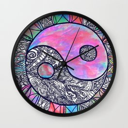 The Ying and the Yang Wall Clock