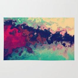 Watercolor marble Rug
