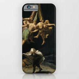 Witches' Flight Francisco Goya iPhone Case