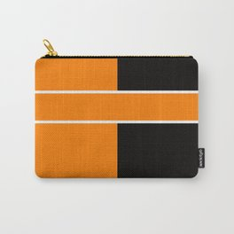 Team Color 6....Orange,black Carry-All Pouch