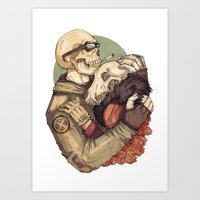 Weird Love Art Print