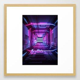 BILATERAL Framed Art Print