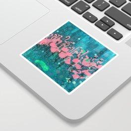 :: Flamingos Among Us :: Sticker
