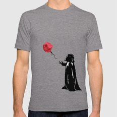 Little Vader - Inspired by Banksy MEDIUM Mens Fitted Tee Tri-Grey