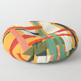 Variation of a theme Floor Pillow