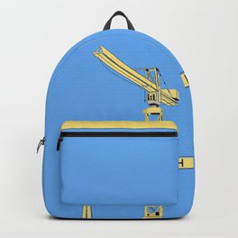 Harland and Wolf Shipyard Belfast Backpack