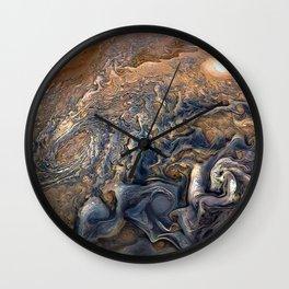 Jupiter's Clouds Wall Clock