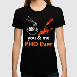Pho Pun Design Noodles Design Graphic T-shirt