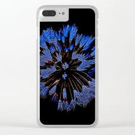 Dew On Dandelion, Wild Mandala Clear iPhone Case