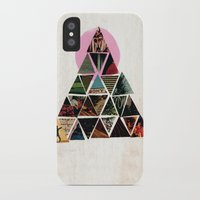 pyramid iPhone & iPod Cases featuring PYRAMID by dara dean