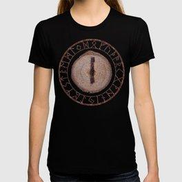 Isa - Elder Futhark rune T-shirt