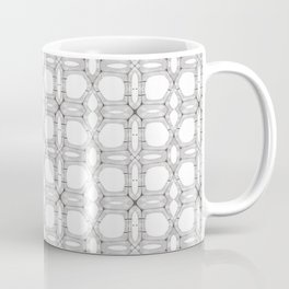 Poplar wood fibre walls electron microscopy pattern Coffee Mug