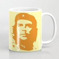 che Mugs featuring Che Guevara  by panamashirt