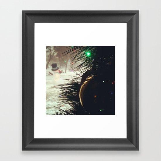 Almost Christmas Framed Art Print