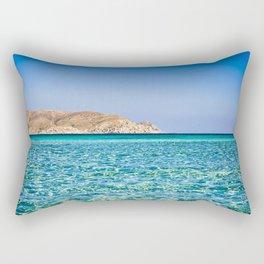 Elafonisi beach Rectangular Pillow