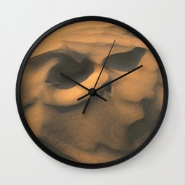 thar desert, Jaisalmer, Rajasthan Wall Clock