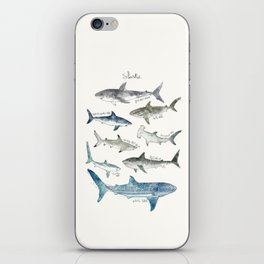 Sharks iPhone Skin
