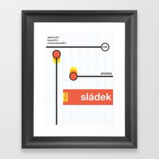 sladek single hop Framed Art Print