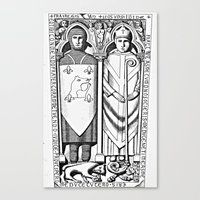 religious Canvas Prints featuring Religious Monuments by Ouijawedge