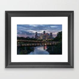 Good morning Houston Framed Art Print
