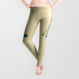 Rock Climbing Wires Leggings