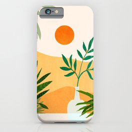California Sunset Views iPhone Case
