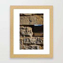 Historical Stones Framed Art Print
