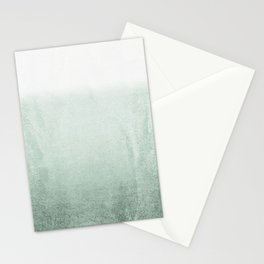 FADING GREEN EUCALYPTUS Stationery Cards