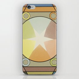 Babbitt's Chromatic Harmony of Gradation and Contrast, 1878, Remake, Vintage Wash iPhone Skin