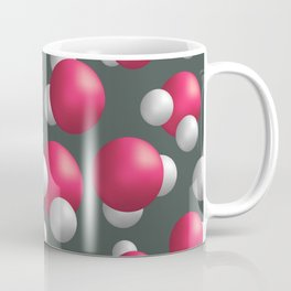 Water molecules Coffee Mug