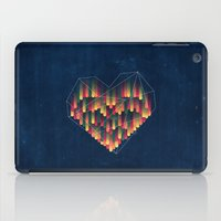 interstellar iPad Cases featuring Interstellar Heart II by VessDSign