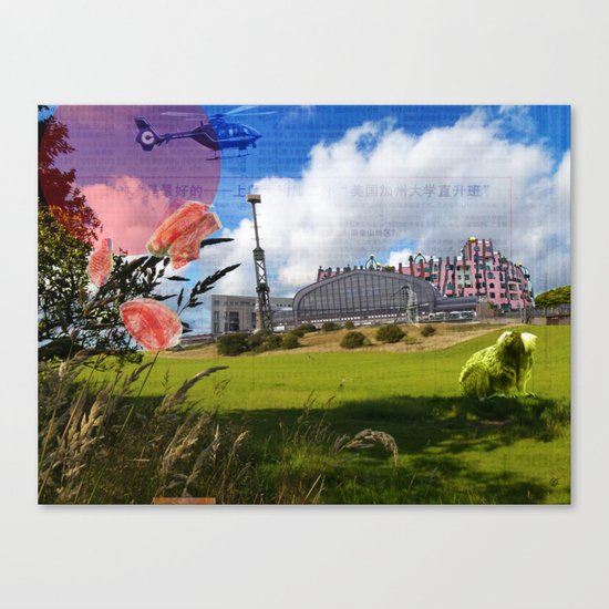 Surreal Living 25 Canvas Print