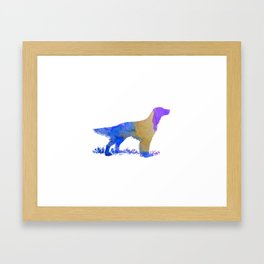 English Setter Framed Art Print