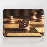 chess iPad Cases featuring Chess by Janelle