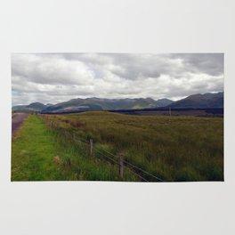A Scottish Highland Landscape Rug