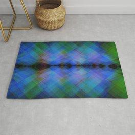 Cymatic flash Rug