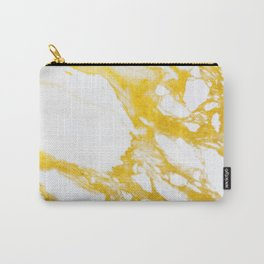 Gold Marble texture Carry-All Pouch
