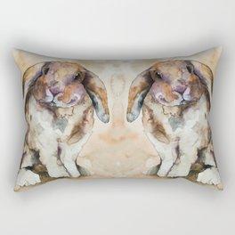BUNNY #1 Rectangular Pillow