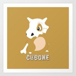 Cubone Art Print