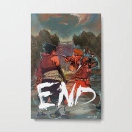 Naruto - END Metal Print