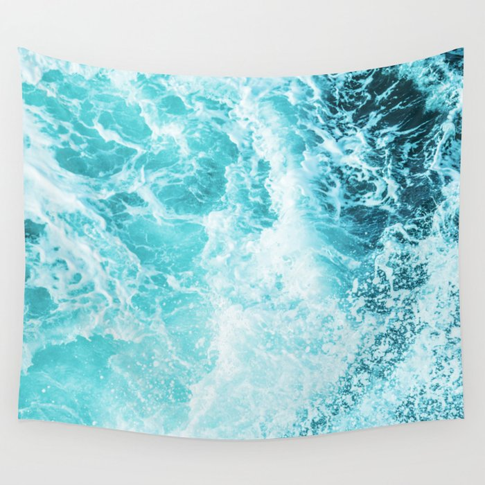 Perfect Sea Waves Wall Tapestry By Cascadia Society6