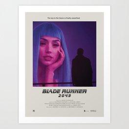 Blade Runner 2049 (2017) Minimalist Poster Art Print
