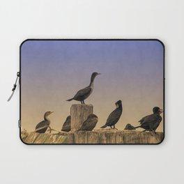 Cormorants at Sunset Laptop Sleeve