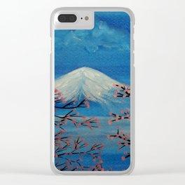 Fuji Clear iPhone Case