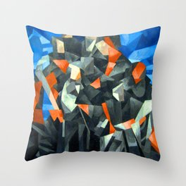 Francis Picabia Procession Seville Throw Pillow