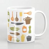 kitchen Mugs featuring Kitchen by Bellwheel