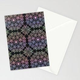 hand draw coloring mandala Stationery Cards
