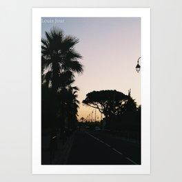 Southern Sunset (part 1) Art Print