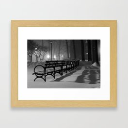 Shadows of the Storm Framed Art Print